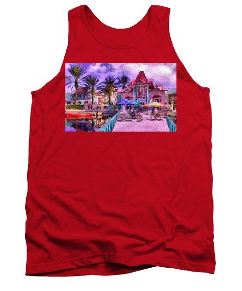 Caribbean Beach Resort Tank Top