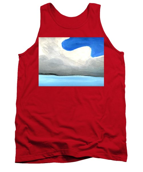 Caribbean Trade Winds Tank Top by Dick Sauer