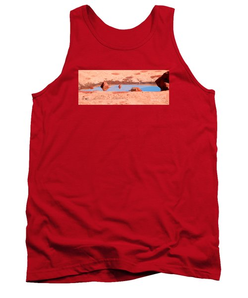 Caribbean Puddle Tank Top