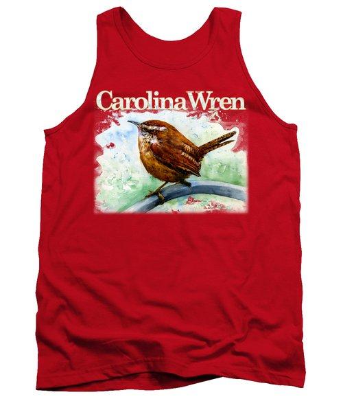 Carolina Wren Shirt Tank Top