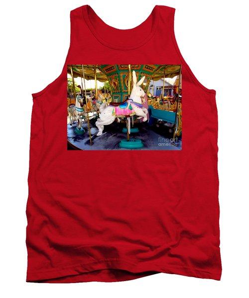 Carousel Bunny Tank Top
