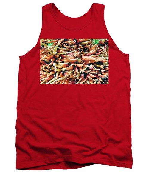 Carrots Tank Top by Ian MacDonald