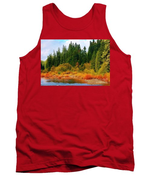 Cascade Autumn Tank Top