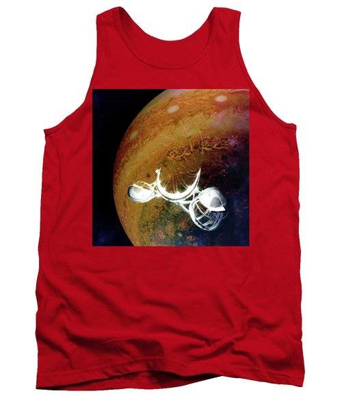 Tank Top featuring the photograph Cast Away by Alex Lapidus