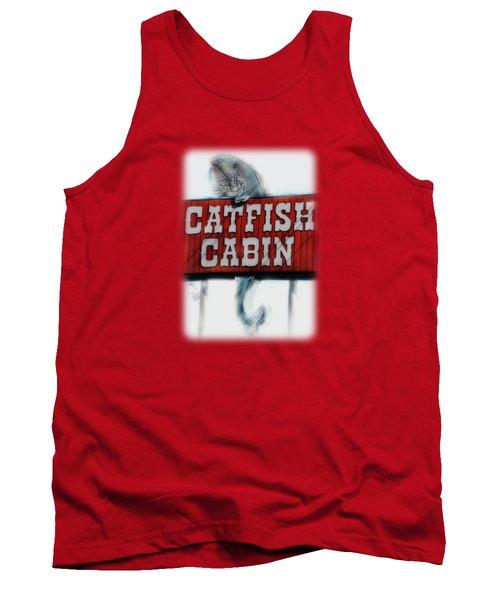 Catfish Cabin  Tank Top by Anita Faye