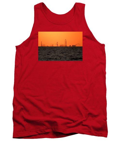 Cedar Point Skyline Tank Top by Rob Blair