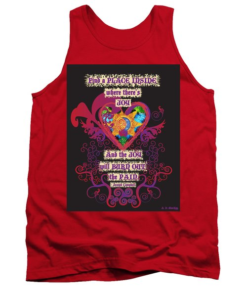 Celtic Eclipse Of The Heart Tank Top
