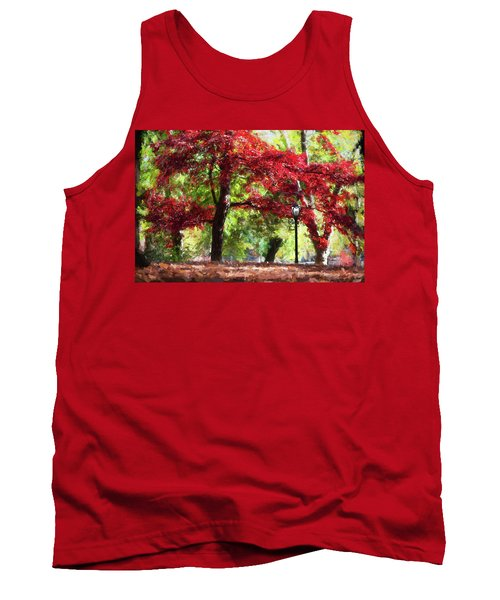 Central Park In Manhattan Tank Top