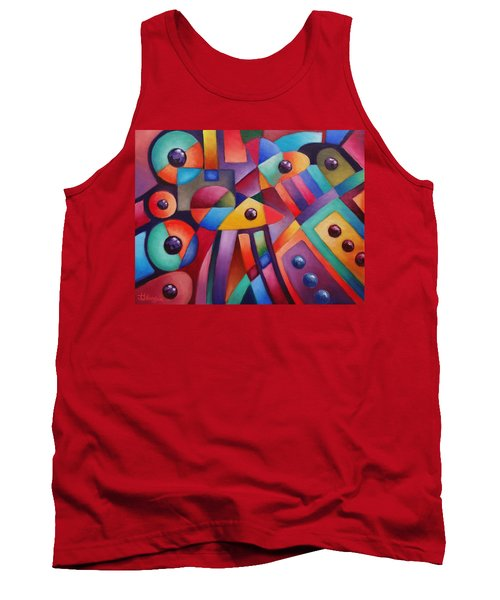 Cerebral Decor # 6 Tank Top