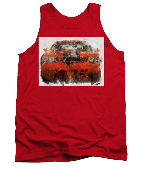 Challenger Wash Tank Top by Michael Cleere