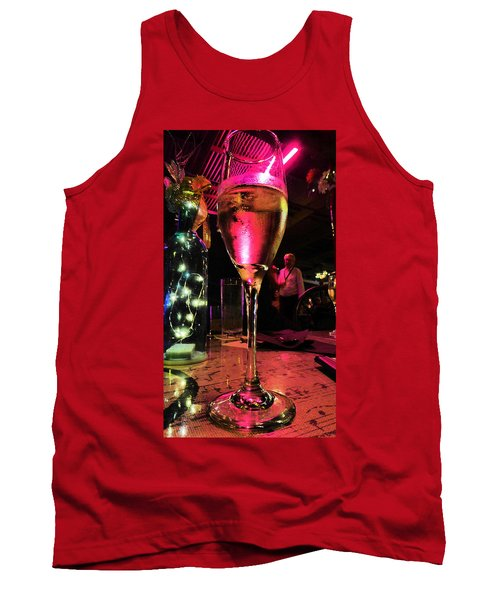 Champagne And Jazz Tank Top