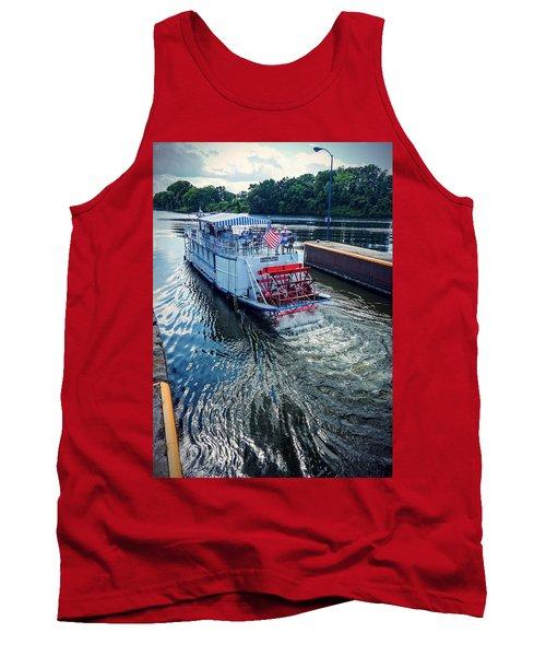 Champlain Canal Patriot Tank Top