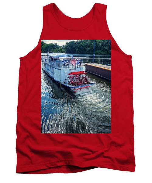 Champlain Canal Patriot Tank Top