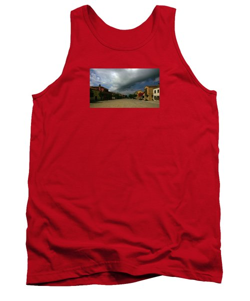 Tank Top featuring the photograph Change In The Weather by Anne Kotan