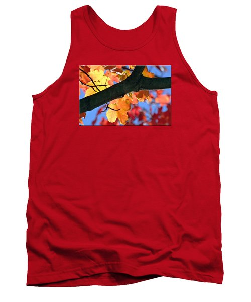Changing Of The Colors Tank Top by Mikki Cucuzzo