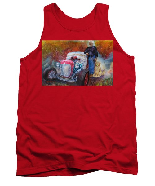 Charlie And Bella's Ride Tank Top