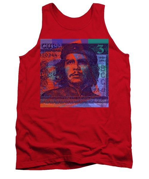Che Guevara 3 Peso Cuban Bank Note - #3 Tank Top