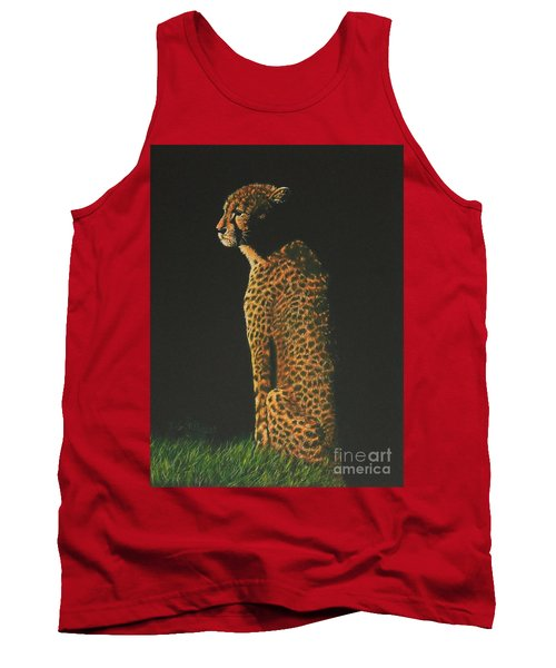 Cheetah At Sunset Tank Top