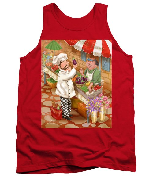 Chefs Go To Market I Tank Top