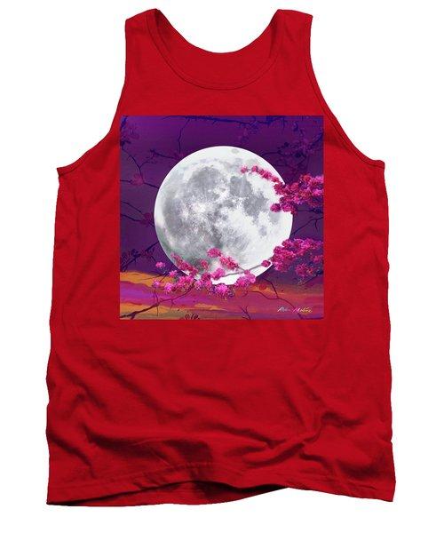 Cherry Moon  Tank Top