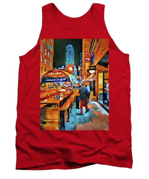 Chicago Night Time Tank Top