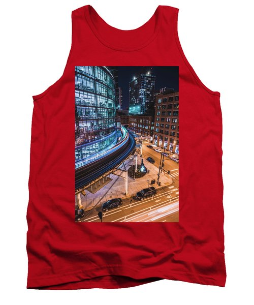 Chicago S Train Tank Top