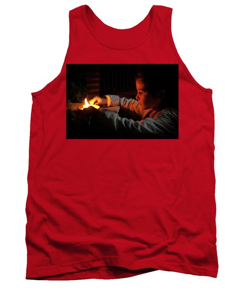 Child In The Night Tank Top