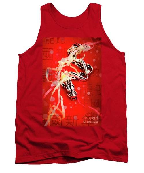 Chinese New Year Background Tank Top