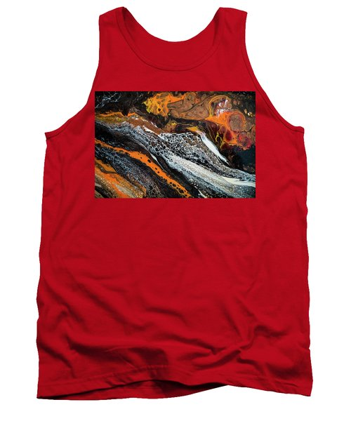Chobezzo Abstract Series 1 Tank Top by Lilia D