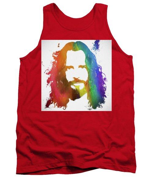 Chris Cornell Color Tribute Tank Top