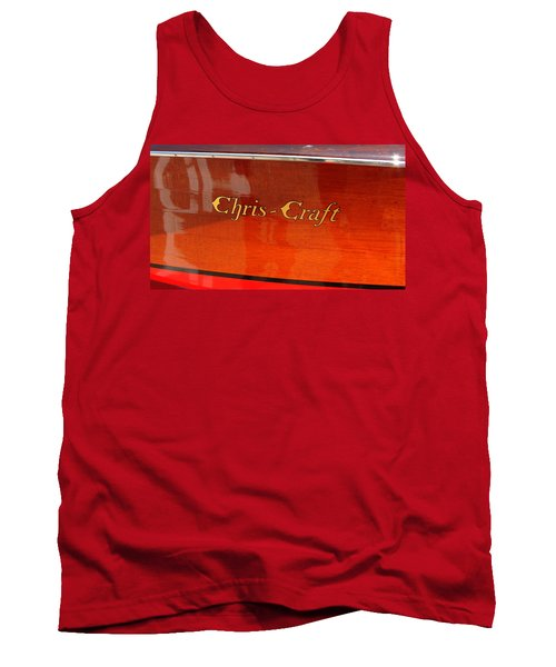 Chris Craft Logo Tank Top