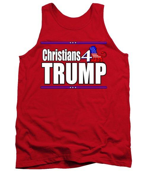 Christians 4 Trump Tank Top