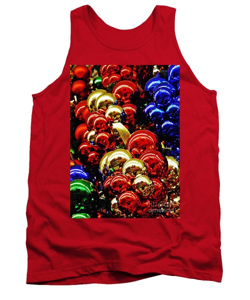 Christmas Abstract 14 Tank Top