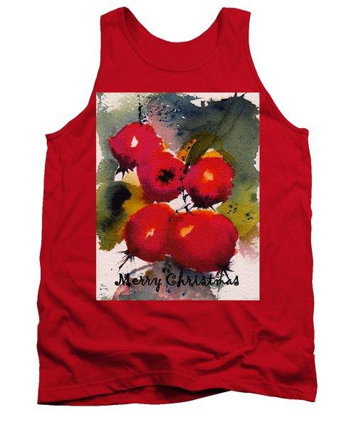 Christmas Berries Tank Top
