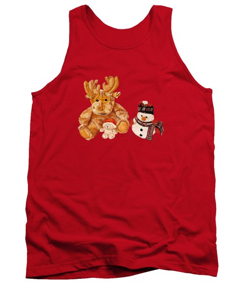 Christmas Buddies Tank Top