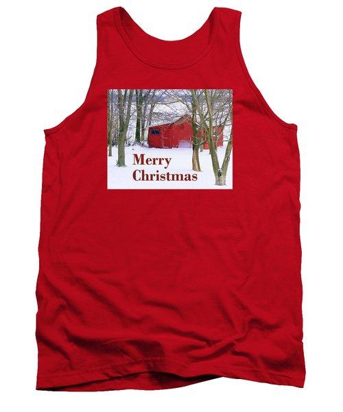 Christmas Card  Tank Top