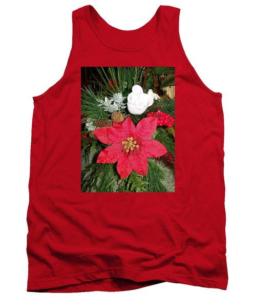 Tank Top featuring the photograph Christmas Centerpiece by Sharon Duguay