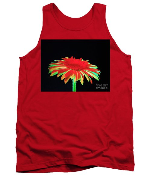 Christmas Daisy Tank Top