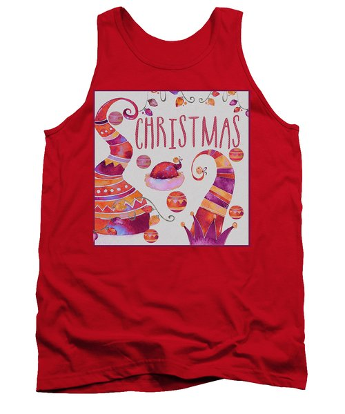 Tank Top featuring the photograph Christmas by Jeff Burgess