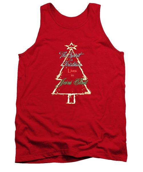 Christmas Spirit Tank Top