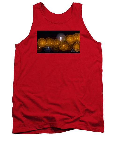 Tank Top featuring the photograph Church With Circle Bokeh by Odon Czintos