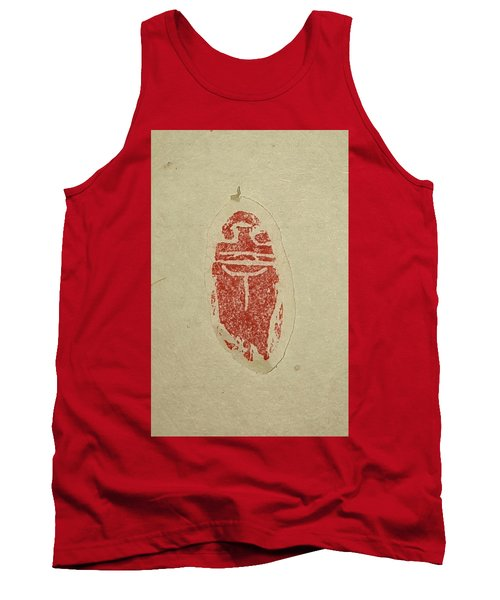 Tank Top featuring the painting Cicada Chop by Debbi Saccomanno Chan