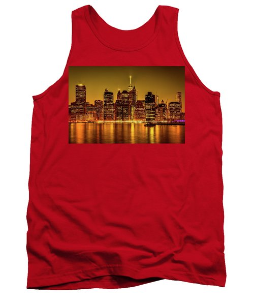 Tank Top featuring the photograph City Of Gold by Chris Lord