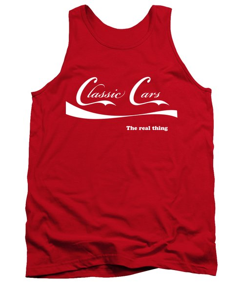 Classic Cars Tank Top by Dennis Hedberg