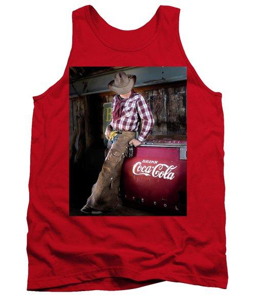 Classic Coca-cola Cowboy Tank Top