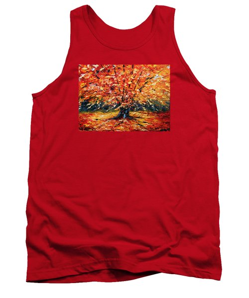 Clothed With Splendor Tank Top by Meaghan Troup