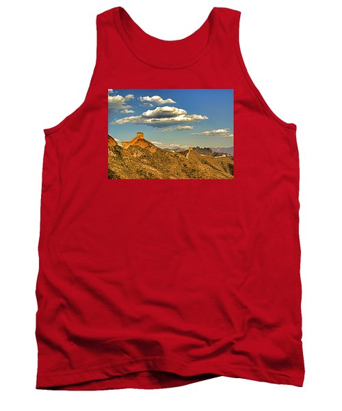 Clouds Over Great Wall Tank Top