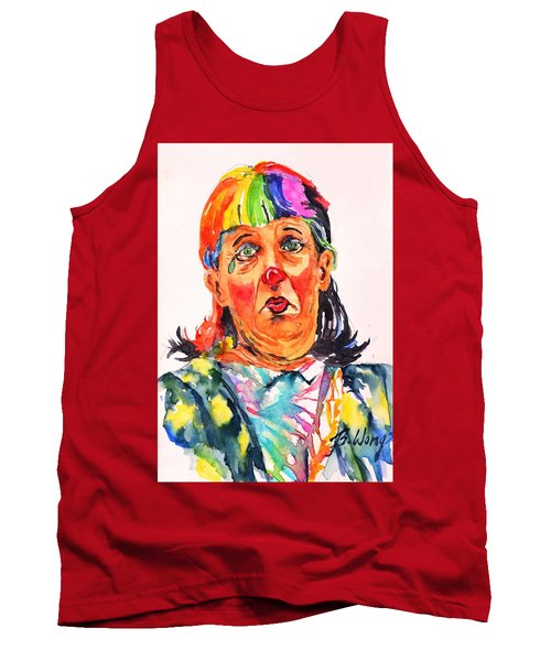 Clown Series Oh No  Tank Top