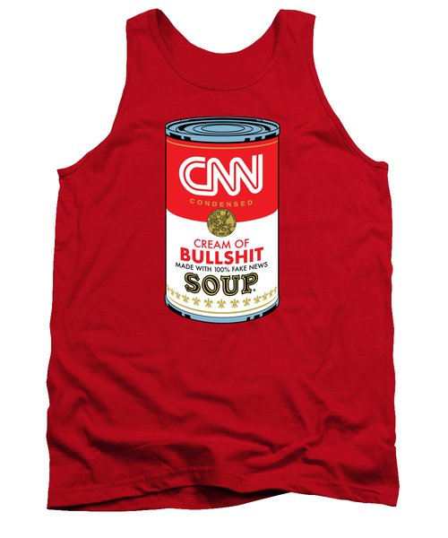 Cnn Soup Can Tank Top