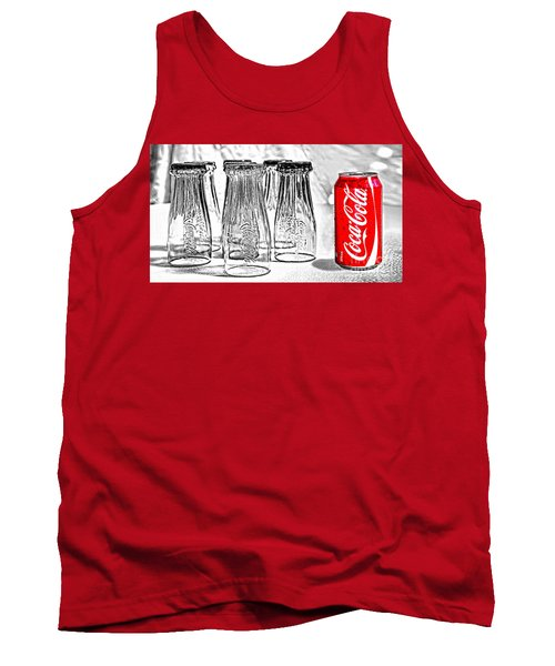 Coca-cola Ready To Drink By Kaye Menner Tank Top